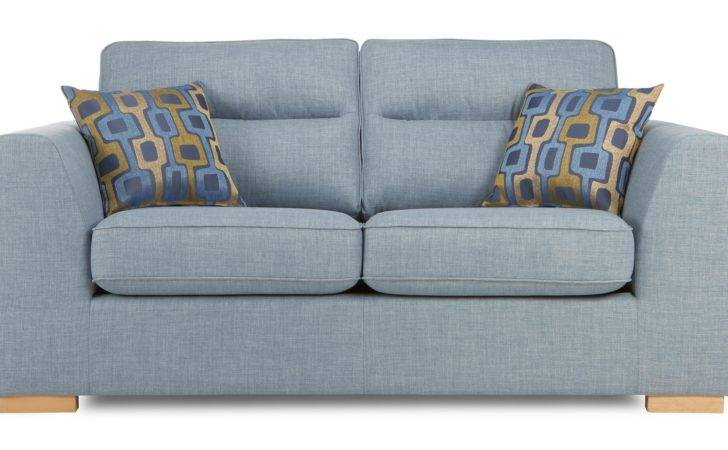 Dfs Pave Sky Settee Seater Fabric Sofa Bed Ebay