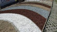 Different Color Gravel Samples