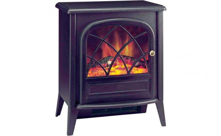 Dimplex Ritz Portable Electric Fire Optiflame Log