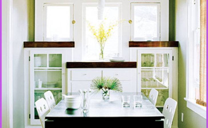 Dining Small Spaces Home Design Homedesignq