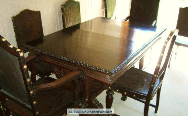Dining Table Antique Gothic