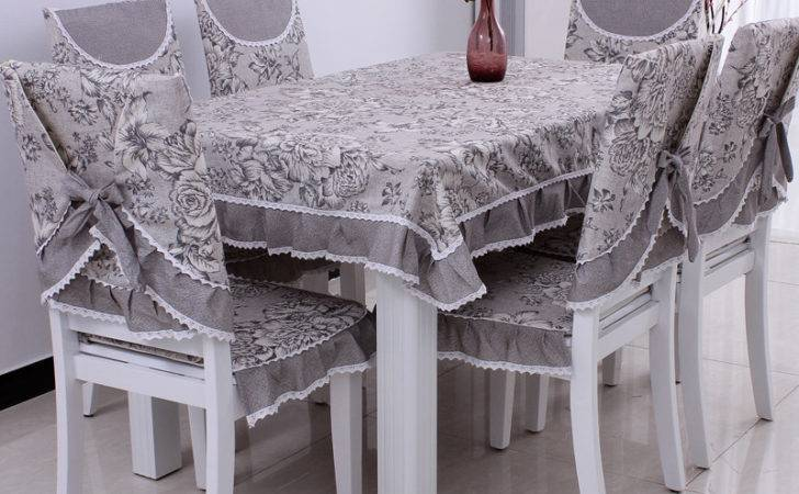 Dining Table Cloth Cushion Chair Covers Pad