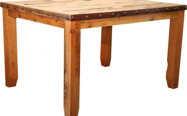 Dining Table Rustic Barnwood