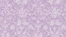 Distressed Damask Purple Prepasted