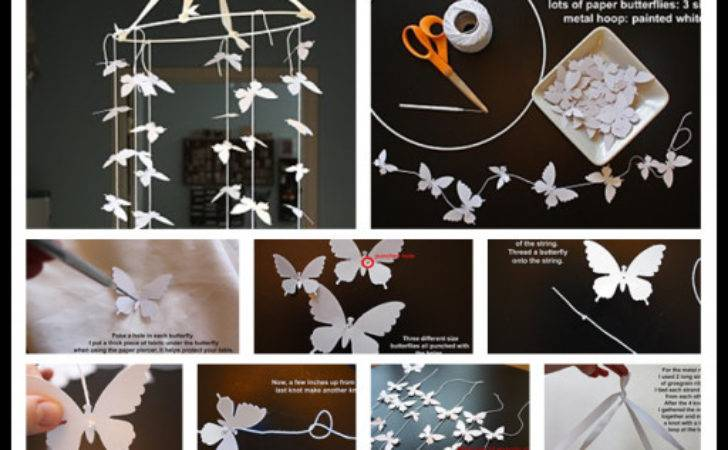 Diy Butterfly Mobile Photos