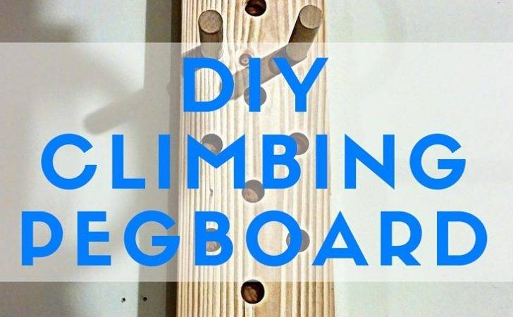 Diy Climbing Peg Board Garage Gym Reviews
