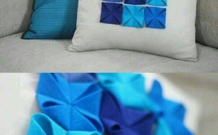 Diy Cushion Covers Best Out Waste
