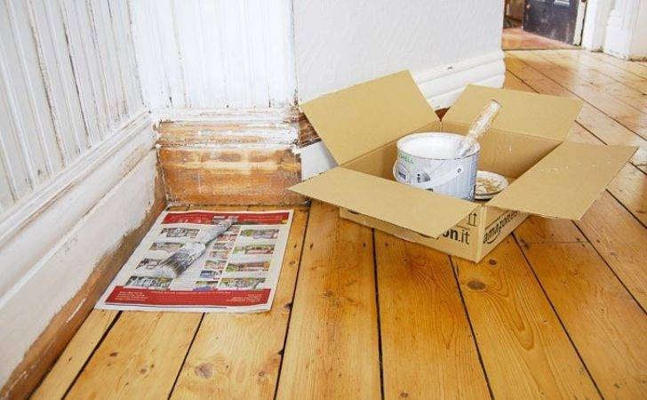 Diy Guide Painting Skirting Boards