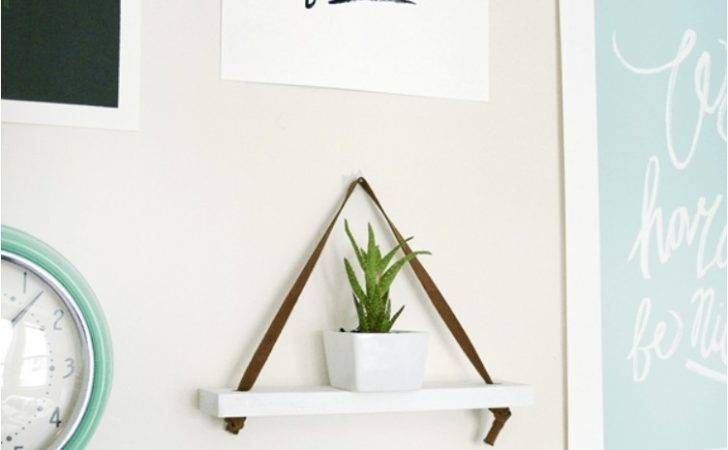 Diy Hanging Shelves Perfect Every Room Your Home