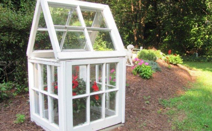Diy Mini Greenhouses Small Space Gardens Self