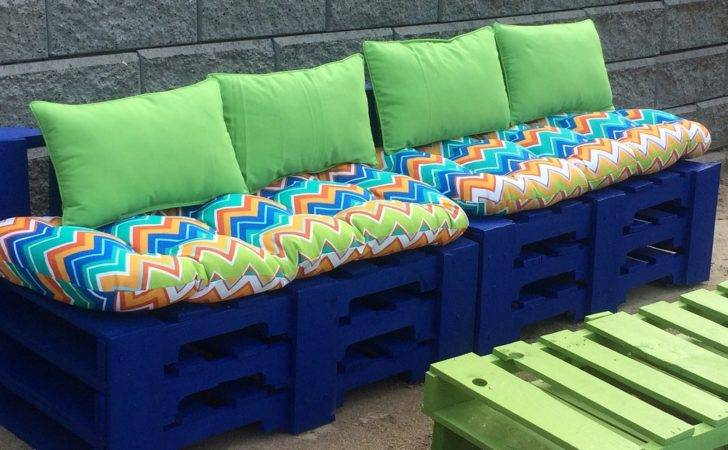 Diy Outdoor Bench Storage Cushion Back