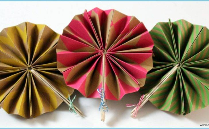 Diy Paper Fans Del Mar Lighting