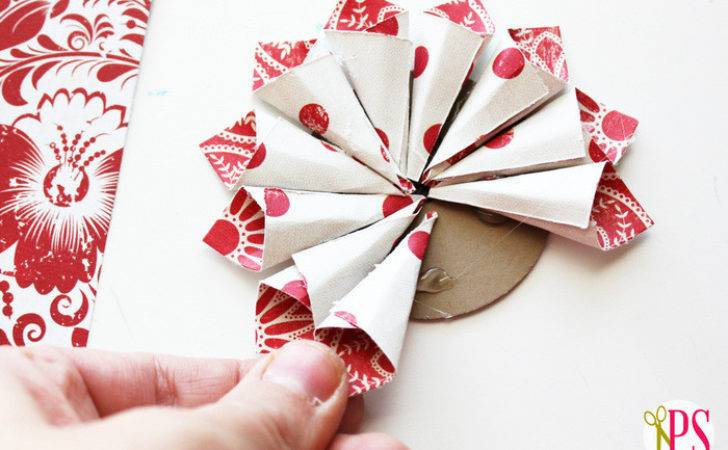 Diy Paper Ornament Chirstmas Craft Heart Nap Time