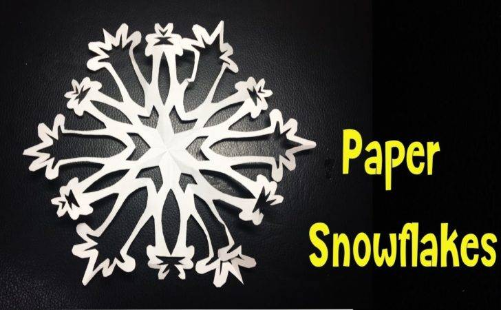 Diy Paper Snowflakes Youtube