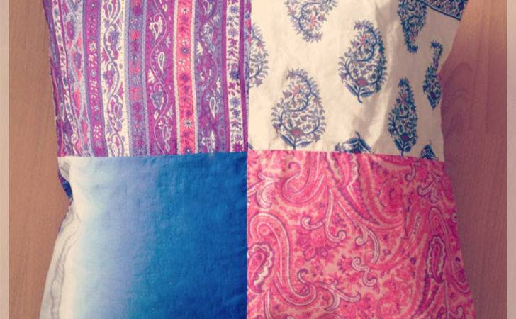 Diy Patchwork Cushion Cover Thought Clothing