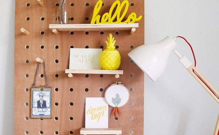 Diy Pegboard Little House Corner