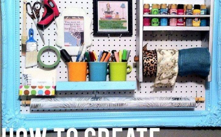 Diy Pegboard Organization Hometalk