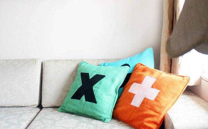 Diy Pillow Covers Sheeran Craftables