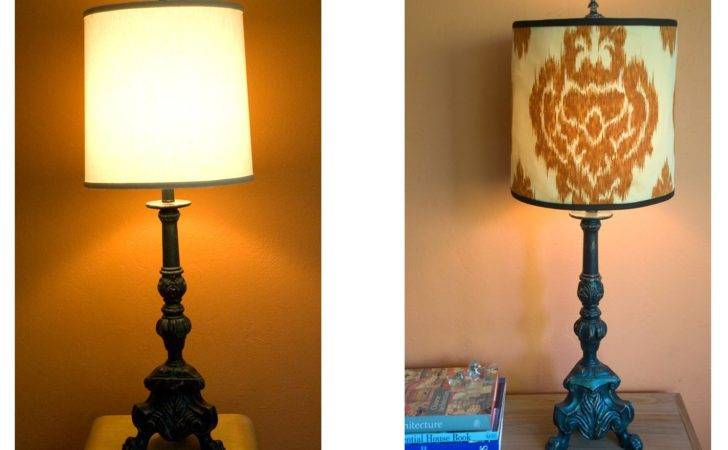 Diy Salvage Making Lamp Shade Cover Forma Living