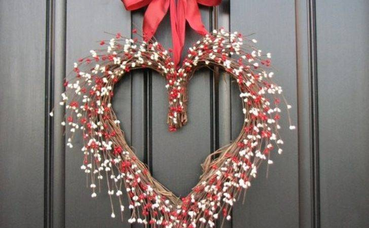 Door Wreaths Valentine Wreath