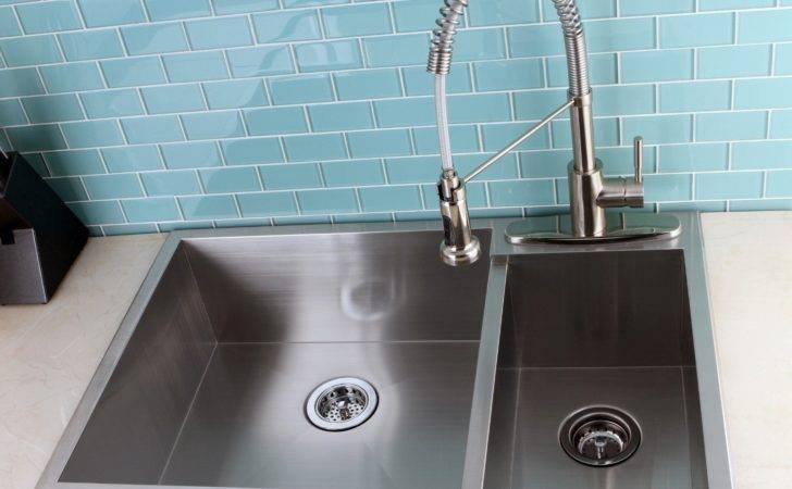 Double Bowl Stainless Steel Kitchen Sink Top Mount Nytexas