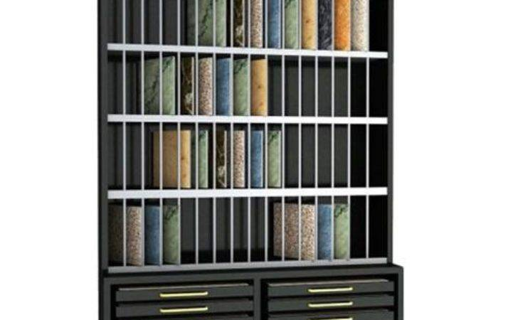 Double Sides Drawer Tile Display Stone
