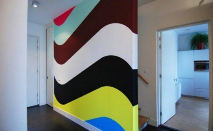 Double Wall Painting Ideas Modern House Plans Designs