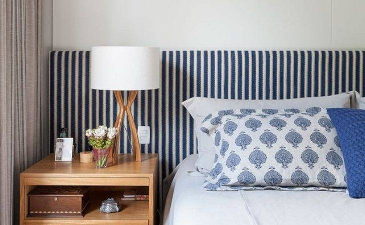 Dramatic Look Try Oversized Headboards Bedroom