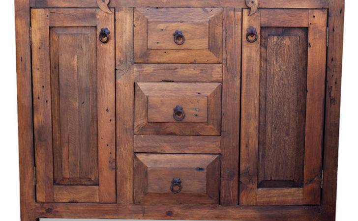 Drawer Reclaimed Wood Vanity Farmhouse