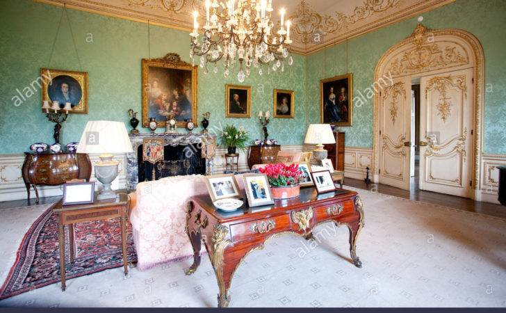 Drawing Room Highclere Castle Home Lord Lady