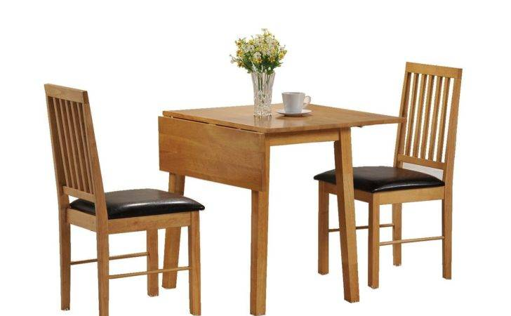 Drop Leaf Console Dining Table Elegant Small