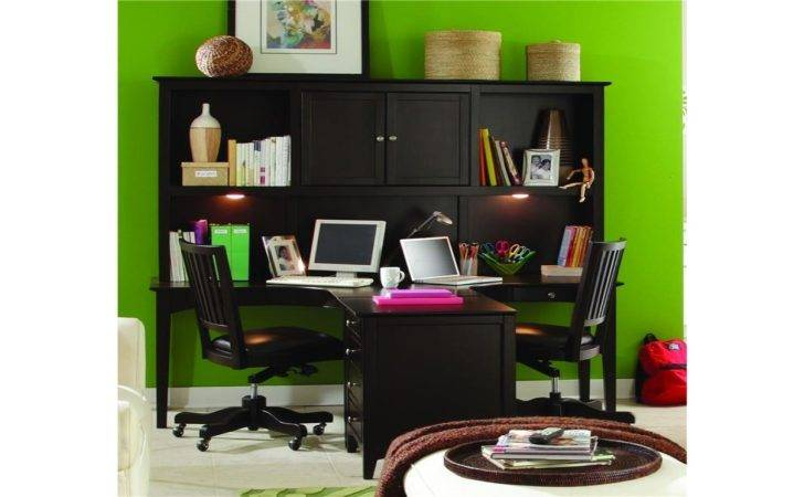 Dual Office Desk Home Furniture Shaped