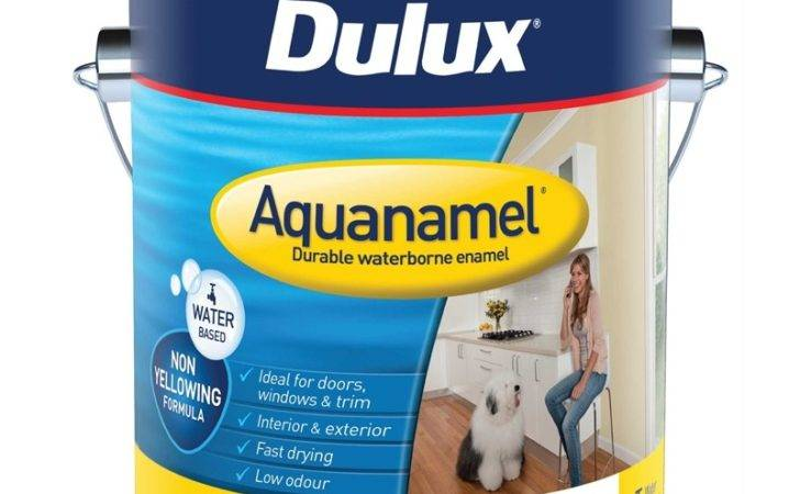 Dulux Aquanamel High Gloss White Enamel Paint