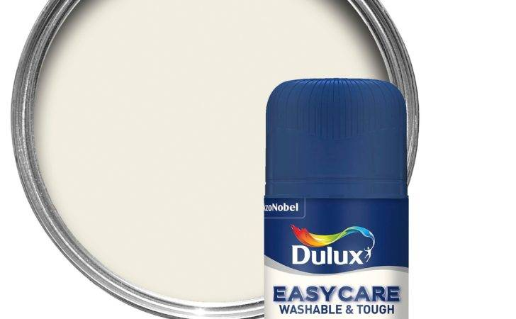 Dulux Easycare White Cotton Matt Emulsion Paint