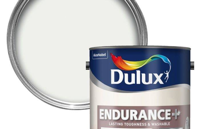Dulux Endurance White Cotton Matt Emulsion Paint