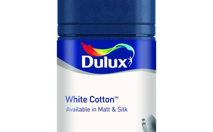 Dulux Matt Emulsion Paint Tester Pot White Cotton
