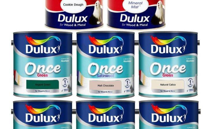 Dulux Once Perfect High Gloss Satinwood Paint Interior