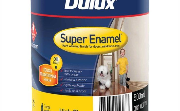 Dulux Super Enamel High Gloss Black Paint