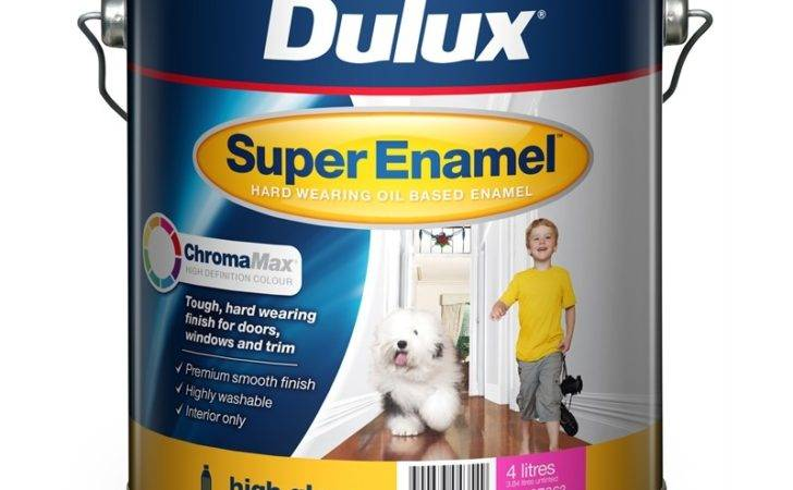 Dulux Super Enamel High Gloss Chromamax Extra Bright