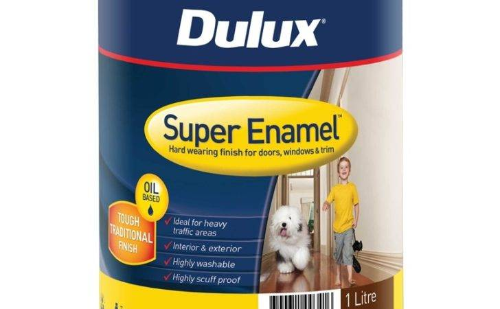 Dulux Super Enamel High Gloss Mission Brown Paint
