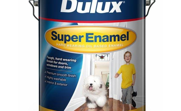 Dulux Super Enamel High Gloss Vivid White Interior Paint