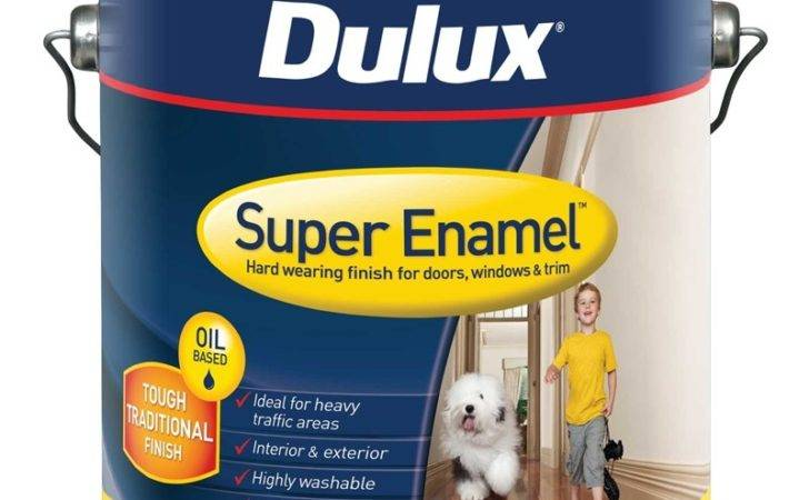 Dulux Super Enamel High Gloss Vivid White Paint