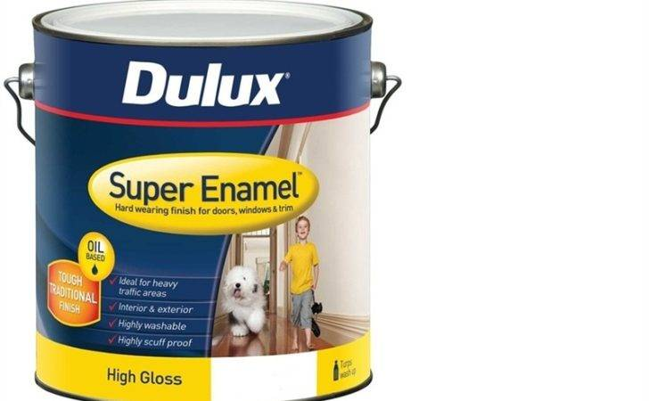 Dulux Super Enamel High Gloss White Bunnings Warehouse