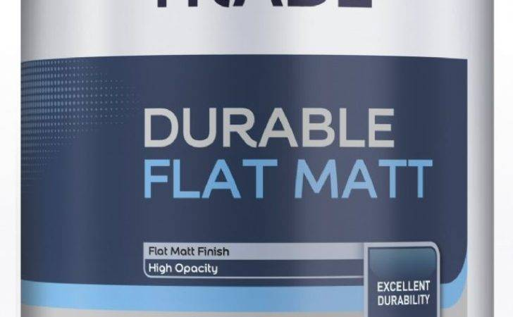 Dulux Trade Flat Matt White Litres