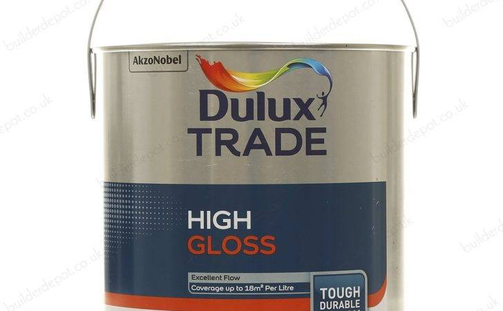Dulux Trade Gloss Paint Black