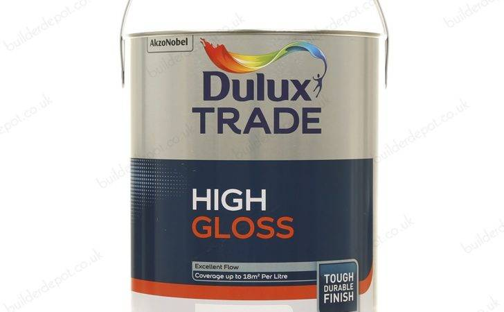 Dulux Trade Gloss Paint Brilliant White