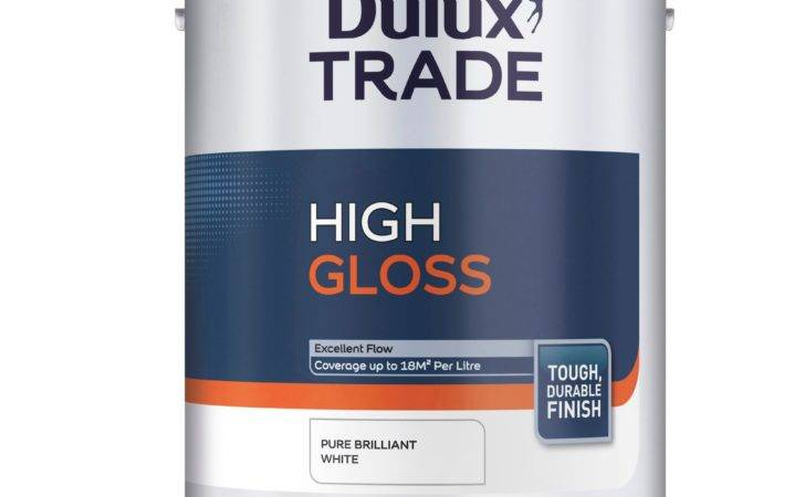 Dulux Trade Internal External Pure Brilliant White High