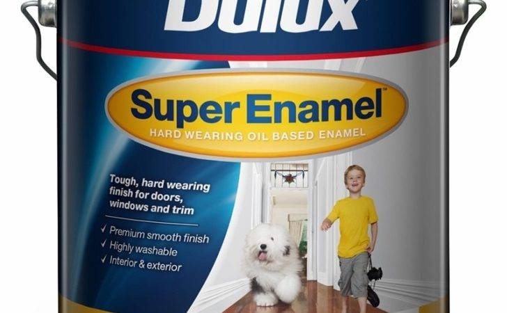 Dulux Vivid White Super Enamel High Gloss Paint