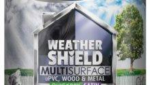 Dulux Weathershield Multi Surface Paint Quick Dry Satin