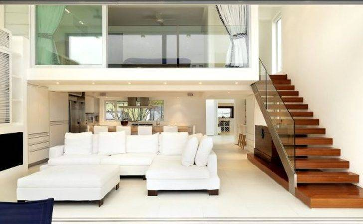 Duplex House Staircase Designs Living Room